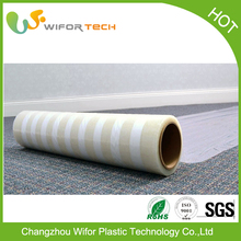 Black And White Low Density PE Embossed Pe Protective Film
