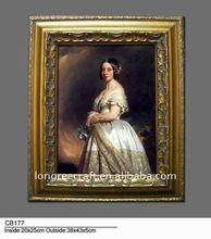 Classic Lady Handmade Canvas Painting