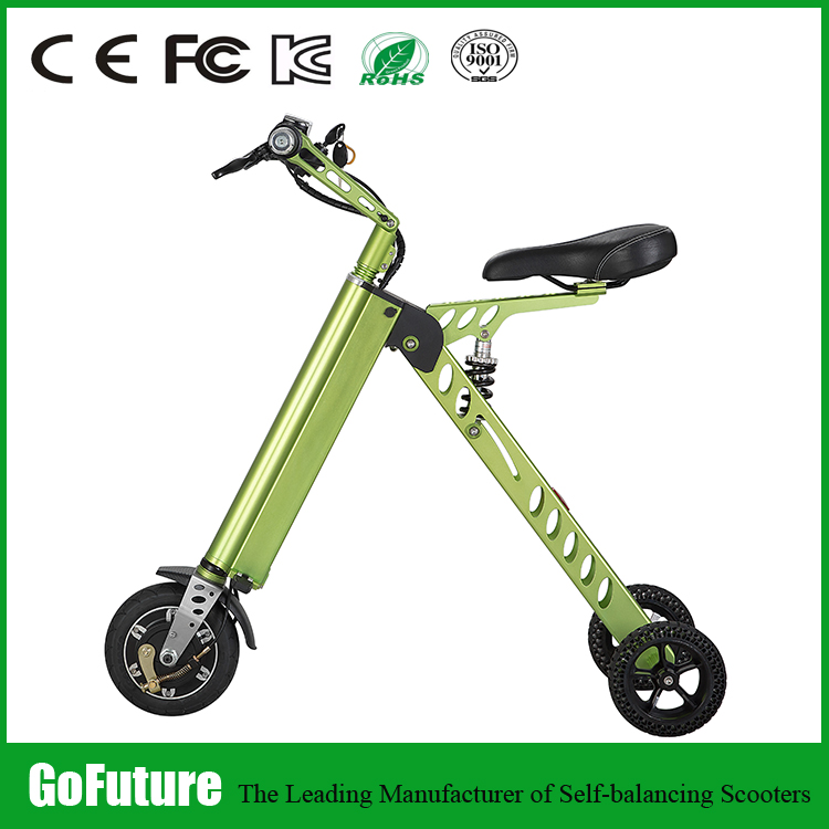 Off Road Electric Trike Scooter-Self Banlace Scooter with 3/Three Pedal Wheel