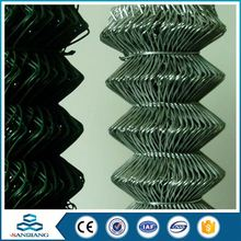 High quality wholesale hot galvanized chain link fence