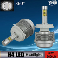 2014 New H4 24V 30W Light Xenon HID Lamp Headlight