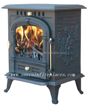 multi fuel cast iron new style wood stove(JA002)