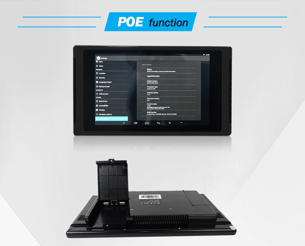 touch screen android tablet with 4 usb port