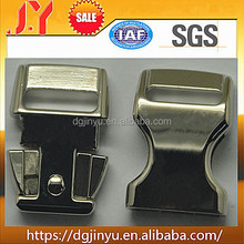 "Dongguan Jinyu curved metal buckle ,5/8"" chrome metal buckle"