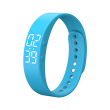 Silicone Running Wrist Watches Unisex USB Bracelet Watch