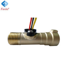 ZG1/2'' 1~30L/Min. 8Hz(Pulse)/Liter brass hall flow sensor magnetic water liquid flow sensor meter