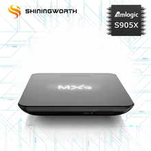 Más vendido mxq pro amlogic S905X Quad Core 1G 8g Kodi 17.1 WiFi Android Smart TV caja