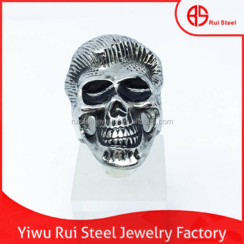 stainless steel skull rings for men women men ring model stainless steel skull ring