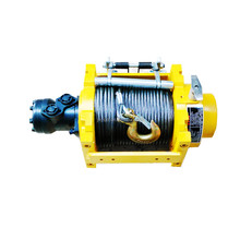 hydraulic power tow winch for 4x4 off road