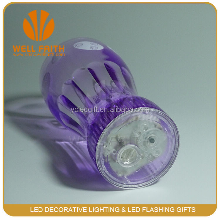 Factory supply promotion gifts led cup with different design