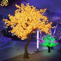 Outdoor artificial maple tree with lights for wedding favours