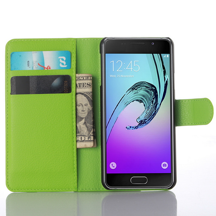 Customized hot-sale leather cell phone case for samsung a3