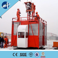 safety device rated load capacity 1-4ton building lift elevators with CE