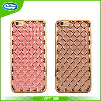 Luxury soft electroplate tpu case for iphone 6