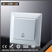 High quality hot sale 1 gang 2 way waterproof call bell push switch