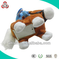 super soft fabric battery-operated walking electric horse toy