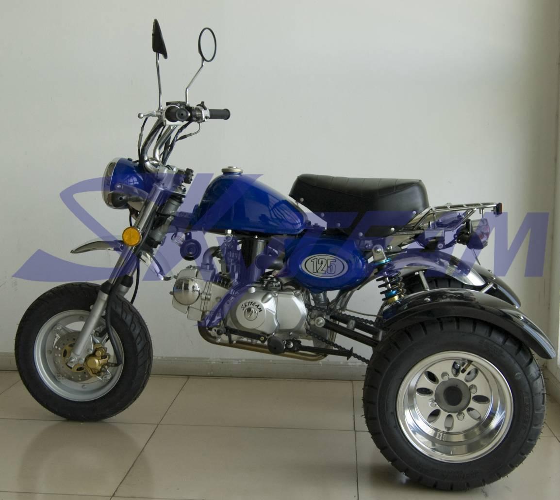 skyteam 50cc e 125cc scimmia replica tre ruote tricicli id. Black Bedroom Furniture Sets. Home Design Ideas
