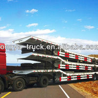 China Transport Heavy Machinery Tri Axle