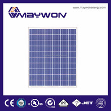 220W Polycrystalline PV solar panel for solar energy project