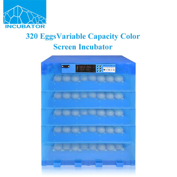 2017 New product Automatic Variable capacity Color screen 320 Eggs Incubator