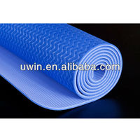 eco friendly TPE yoga mat designed natural rubber yoga mat