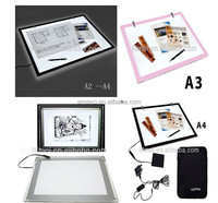 Flat Acrylic LED Light Box Animation Tracing Table Pad