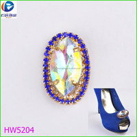 Butterfly Wholesale Decorative Rhinestone Shoe Clips