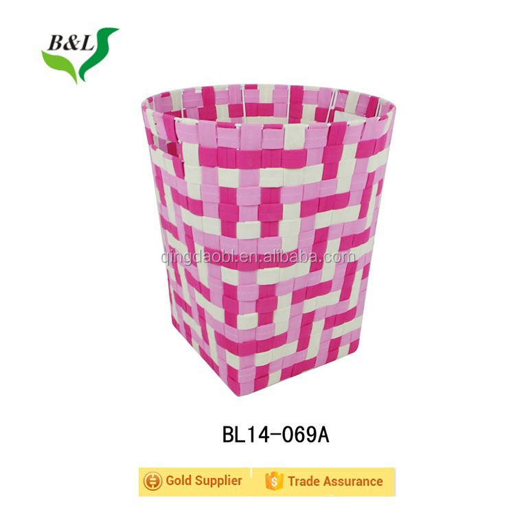 Factory prices hot sale huge round non woven fabric handmade storage basket for laundry 14069