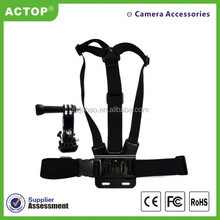 Hot sale New Professional sport camera accessories, sport camera accessory for Elastic Ajustable Head Strap for 3 2