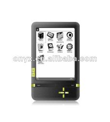 "2012 New X62 6"" ebook reader with stylus touch, wifi"