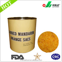 New Products canned fuit, health food mandarin orange cell sacs with checp price