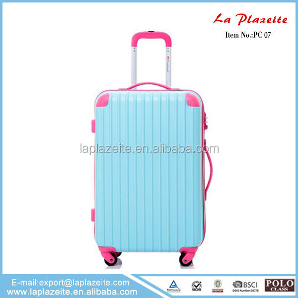 2015 new design korea luggage bag, luggage sleeve, travel luggage sets
