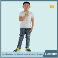 new men latest design denim jeans pants for kids