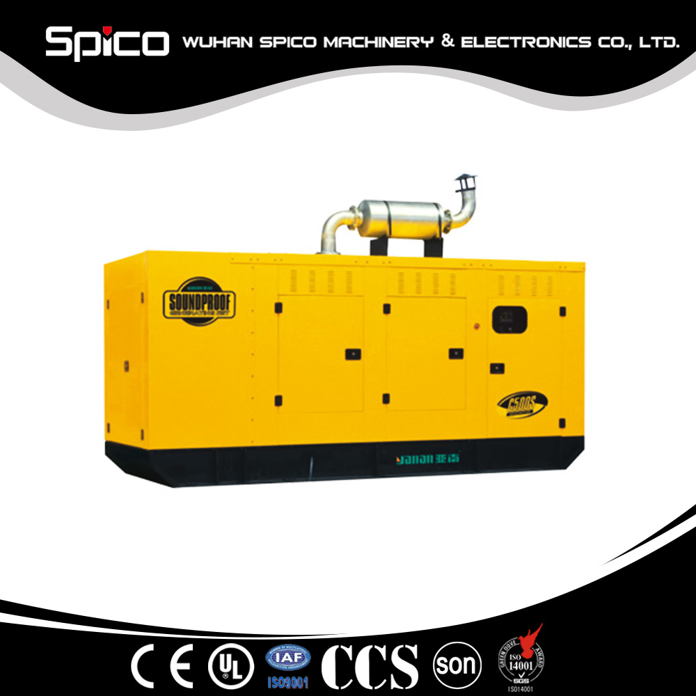 promotional lister type silent diesel generator with low price