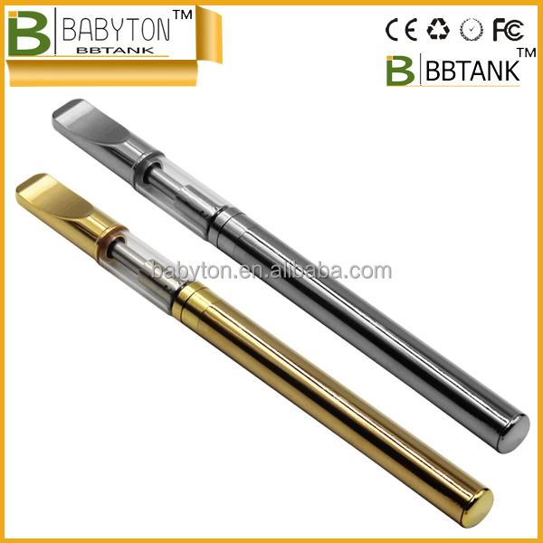 BBtank GLS hemp oil empty name brand electronic cigarette .3 .5 1.0ml 510 atomizer with metal cigarette coil