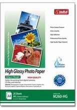 260G High Glossy Cast Coated Inkjet Photo Paper