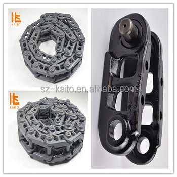Road construction Spare Parts Track Chain with Track Shoe