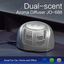 Automatic Dual Scents Aroma Essential Oil Car Air Freshener JO-688 for Car Home & Office