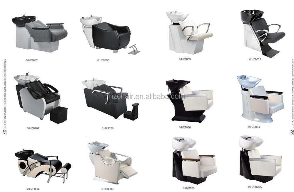 2015 hair salon back wash chair shampoo chair massage for Salon basins for sale