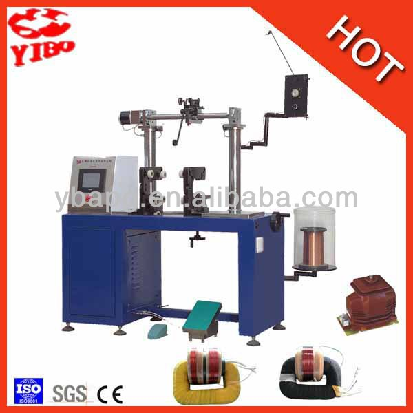 Max winding breadth 350mm 23 years factory Iron core needn't to be cut Voltage Transformer Cicular Winding Machine YR360J