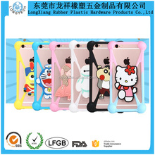 Cute Animal Silicone Phone Case Silicone Mobile Case With Frame
