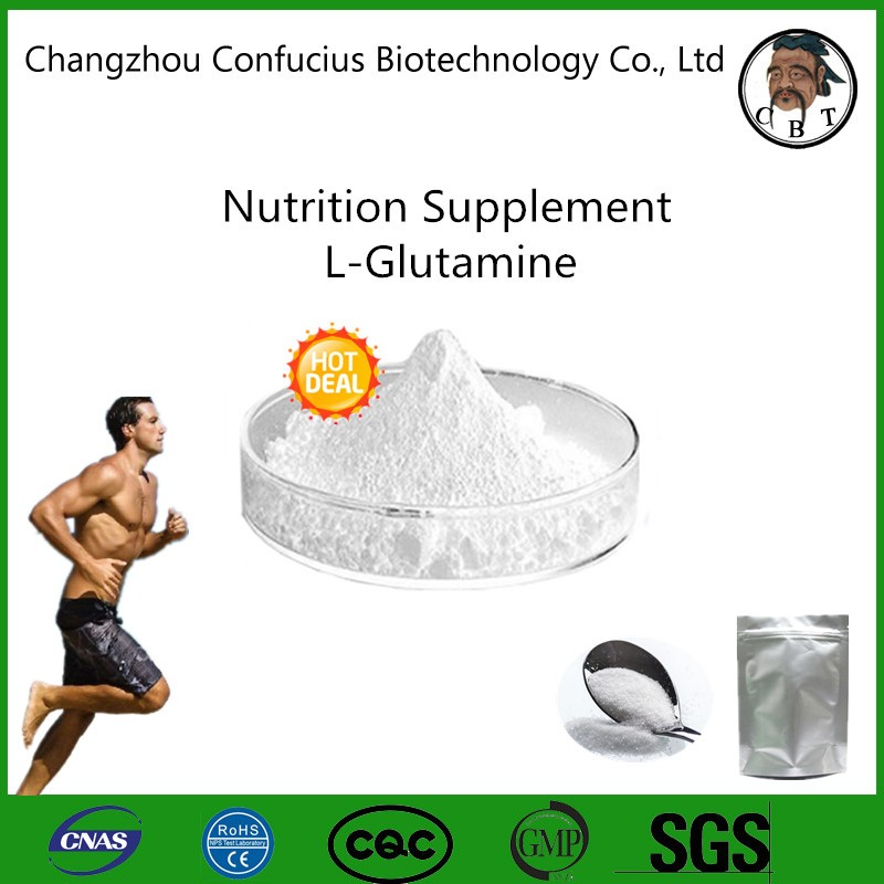 99% purity L-Glutamine CAS 56-85-9 for Sport Nutrition Supplement