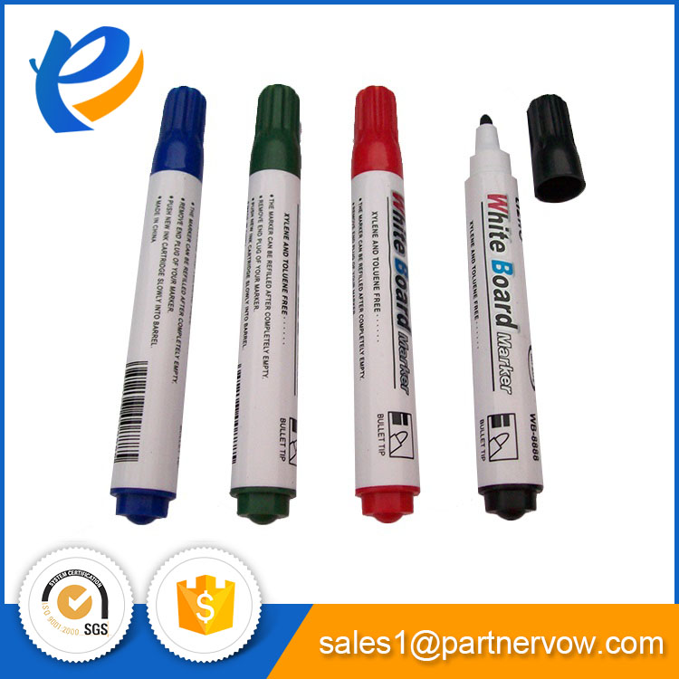 Promotional logo printed custom permanent marker pen