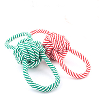 Hot selling pet products handmade cotton dog rope toys