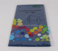 disposable solid color tablecloth
