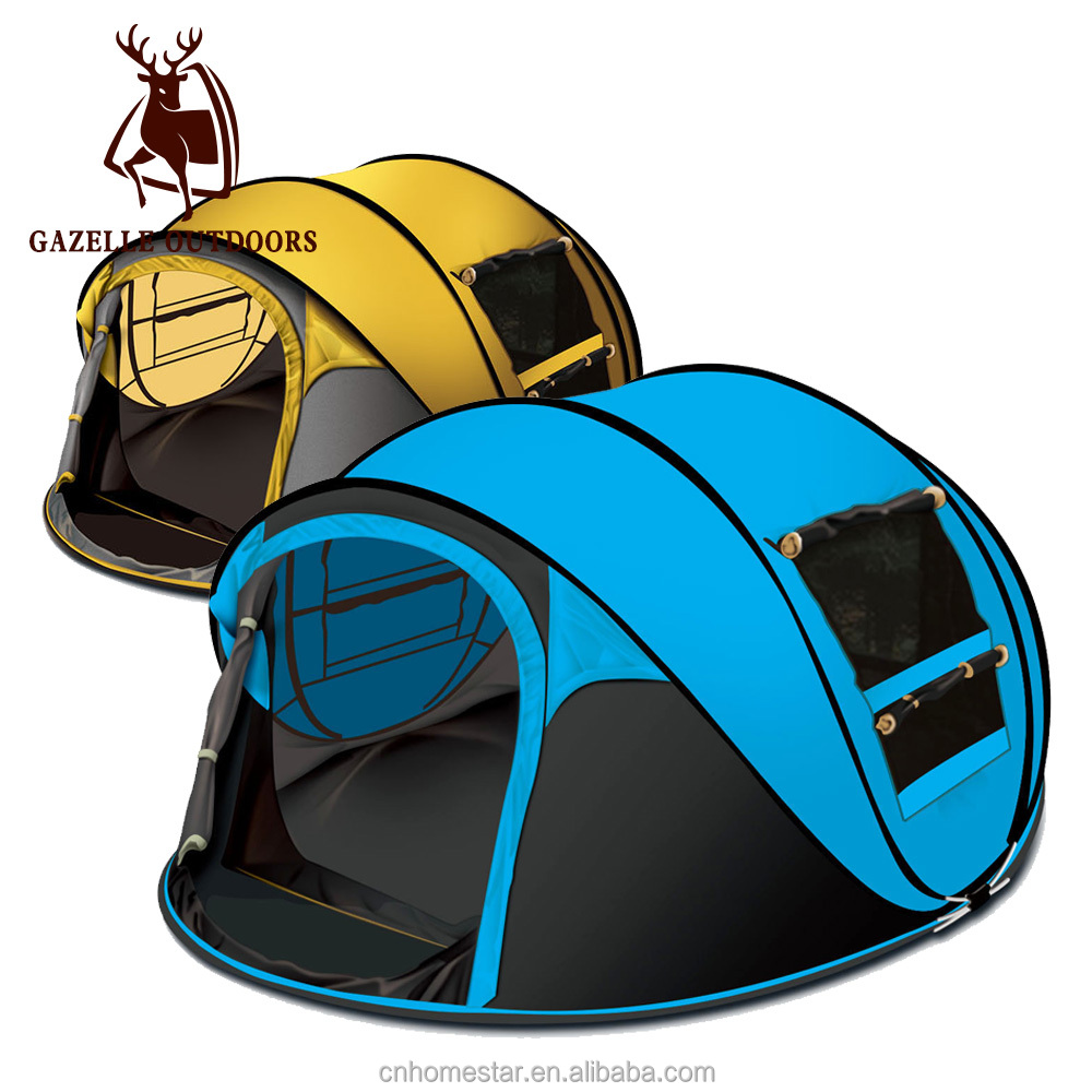 pop up tent big pop up camping tent two colors