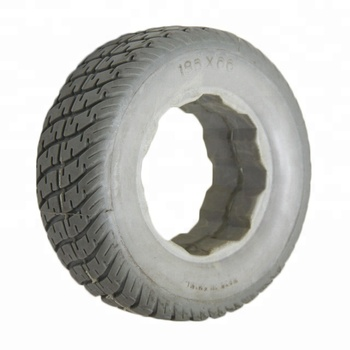 7 Inch Solid Rail Wheels Polyurethane For Hand Trolley