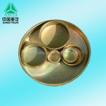 High quality 190003989210 Core hole plug for SINOTRUK HOWO truck parts
