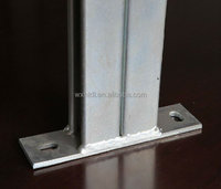 HDG Double channel cantilever arms,channel bracket,Channel