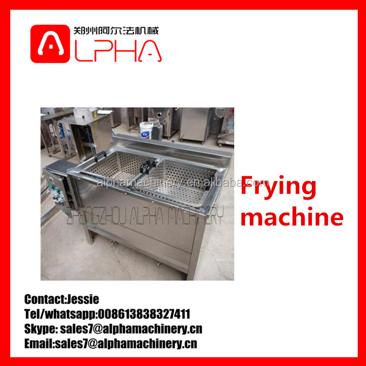 Groundnut frying machine /potato frying machine /gari frying machine
